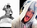 Twerk it, girl! Miley Cyrus shows off her pop star training as she pulls off tricky dance routine while wearing a unicorn onesie