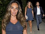 Tamara Ecclestone keeps all eyes on her as she steps out in sheer dress during date night with fiancé Jay Rutland