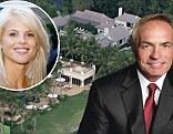 Elin Nordegren's billionaire beau Chris Cline 'snaps up $19 million beachfront mansion' next door to existing Florida home