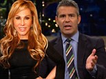 Real Housewives creator Andy Cohen slams Adrienne Maloof as she fails to show up for the Beverly Hills reunion