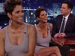 'We're having a little pony bowling party': Halle Berry reveals the theme of daughter Nahla's fifth birthday party on Jimmy Kimmel