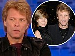 Candid: Bon Jovi opened up about his daughter's heroin overdose during an appearance on Katie