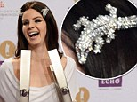 US singer Lana del Rey poses with the 2013 Echo Music