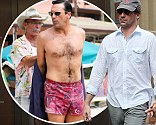 Big star of Mad Men Jon Hamm 'causes stir on Mad Men set with his distracting anatomy'