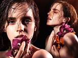 Emma Watson gives a glimpse of her naked ambition in seductive new green campaign