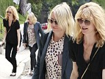Famous gal pals: Naomi Watts commiserates with Laura Dern following the cancellation of her HBO series Enlightened