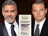 Diet pills for boys: Hollywood heavyweights George Clooney and Leonardo DiCaprio spark record sales for a 'turbo' diet supplement among men