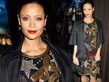 Thandie Newton at the New York premiere of Rogue