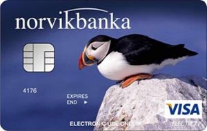 Карта Visa Electron от NORVIK BANKA
