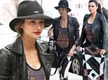 Lily Aldridge and Kim Kardashian wear similar outfits
