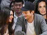 'Our relationship is private': Ashton Kutcher on why he's keeping Mila Kunis romance out of public eye... after learning 'the hard way' with Demi