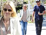Flirty Diana! Naomi Watts swaps sweet nothings with Liev Schreiber on coffee run