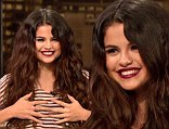 Selena Gomez isn't too heartbroken over her and Justin Bieber's breakup judging by her appearance on Chelsea Lately on Thursday