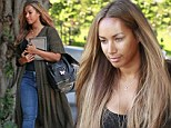 She is about to embark on her 14 date UK tour so perhaps Leona Lewis thought it was time to spruce up before heading back to Blighty.