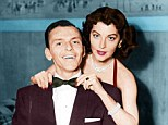 Frank Sinatra with Ava Gardner. frank was a famous womanizer who claimed that he didn't understand women