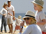 California dreaming! Naomi Watts and Liev Schreiber have family fun in the sun