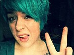 Isabella Cruise goes from orange to purple and now green hair...in just TWO months