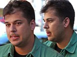 Rob Kardashian shows signs of hair loss after admitting fears about going bald