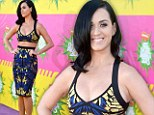 Katy Perry Kids' Choice Awards Nickelodeon on Saturday in Los Angeles