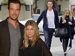 'You know he's going to fall and bump his head': Josh Duhamel hints that he and Fergie are expecting a son