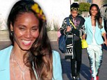 How old are you again? Jada Pinkett Smith dresses like a teenager in tie-dye trousers to go shopping with daughter Willow, 12