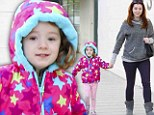 Two more days! Alyson Hannigan and her daughter Satyana go pre-birthday shopping