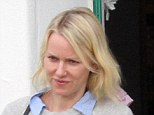 What a way to spend the day! Make-up free Naomi Watts enjoys low-key lunch and toy shopping with her 'boys' in Malibu
