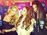 Studio time! Hot in here! Vanessa Hudgens debuts her sexy Spring Breakers-inspired new singleformer Disney star posed with friends while recording her latest single, $$$ex