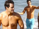 All shirts are off! Former Saved By the Bell stud Mark-Paul Gosselaar shows that he¿s still a heartthrob at 39