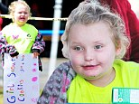 Hard to resist! Honey Boo Boo meets and greets fans as she sells Girl Scout Cookies... and can't help but indulge in a few of them herself