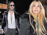 Brand strikes again! Comic Russell 'treats model Zara Martin to a second date at The Savoy as they hit it off'