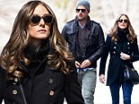 Romance in The City! Olivia Palermo and boyfriend go for a stroll in New York
