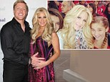 Doting father: Kroy Biermann wants to adopt his wife Kim Zolciak's two daughters from her previous marriage