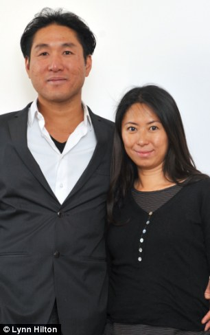 New lease: Jason Yeang and wife Valerie converted the former Nicaraguan Embassy into a family dwelling