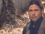 'Every human being we save is one less to fight': Brad Pitt fights to protect his family from zombie apocalypse in new World War Z trailer