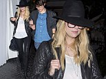 The Pretty Little Liars actress was spotted leaving the celebrity haunt with a friend, and the pair looked like they had enjoyed a good evening.