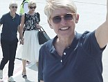 Honey we're home! Portia de Rossi shows wife Ellen DeGeneres where she grew up in Melbourne as their Australian tour continues