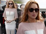 Actress Lindsay Lohan struck a plea deal in Los Angeles Court on March 18