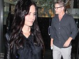 Courteney Cox and Josh Hopkins leave Mr Chow in Los Angeles on Saturday night
