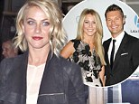 Julianne Hough goes out in Los Angeles on Saturday night after Ryan Seacrest confirms their split