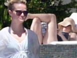 The celebrations continue! Reese Witherspoon toasts her birthday with rose wine and husband Jim Toth in Mexico