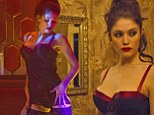 The Lady is a Vamp: Gemma Arterton dons many sexy costumes in her new film, Byzantium
