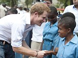Prince's cause: The 28-year-old Royal will also play in a polo tournament on behalf of Sentebale, the organisation he personally set up to help Aids orphans in Lesotho which he visited last month