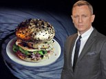 The name's Bun, James Bun: The silver Bond burger contains quail's eggs and fruits de mer