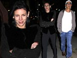 Another chance at love: Liberty Ross has Cheshire Cat grin after dinner date with rumoured beau Jimmy Iovine