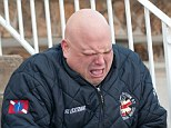 'Bad lieutenant': FDNY EMS Lieutenant Timothy Dluhos sobs after he was confronted by New York Post reporters over racist and anti-Semitic tweets he posted