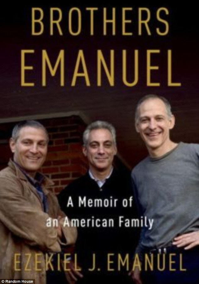 Book: The interview was to chat about bioethicist Ezekie Emanuel's book 'Brothers Emanuel: A Memoir of an American Family'