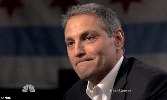 Not happy: Hot-shot Hollywood agent Ari Emanuel, pictured, has sent a feisty legal letter to NBC complaining about his treatment in a recent interview for 'Rock Center'