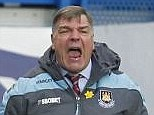 Contract: Sam Allardyce is ready to begin talks with West Ham over a new three-year deal