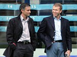 Come home: Jose Mourinho is Roman Abramovich's No 1 choice to take over as Chelsea manager in the summer